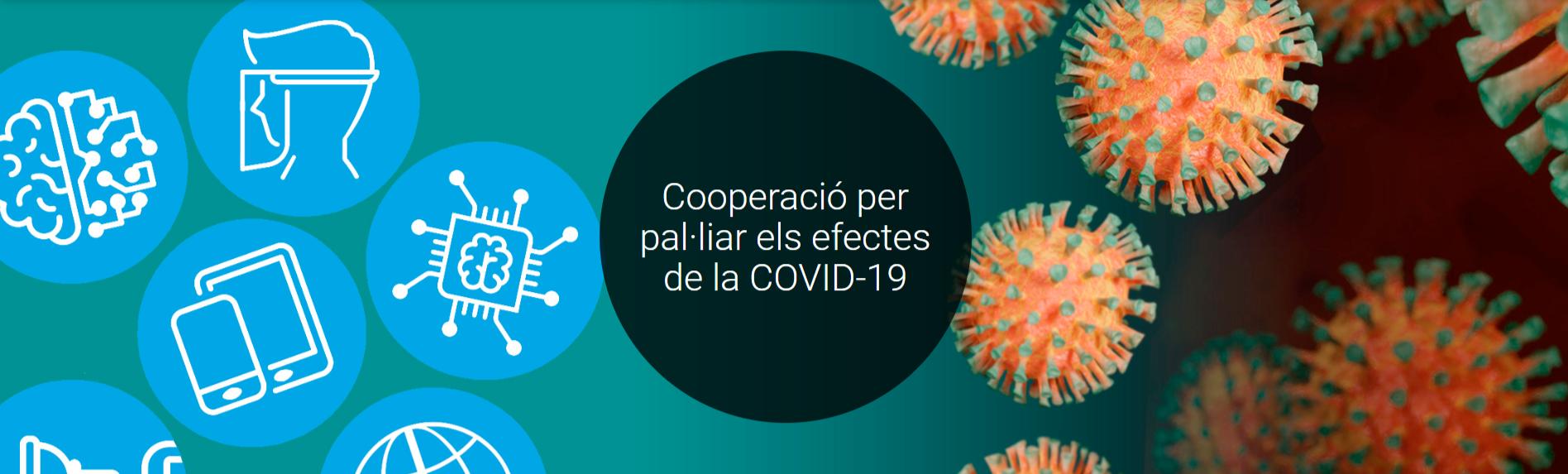 Cooperació per pal·liar els efectes de la COVID-19